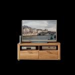 Wohn-Concept Opal Lowboard 4202HH30 in Wildeiche teilmassiv mit Schubkästen und offenen Fächern für Wohnzimmer oder Gästezimmer
