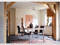 Bert Plantagie Tisch Seven stilvoller Designer Esstisch für Speisezimmer Größe Tischplattenausführung und Gestellausführung wählbar