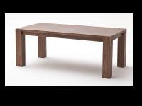 Euro Diffusion VICTORIA Esstisch aus Akazie Massivholz in den Farbausführungen braun oder sand optional mit Ansteckplatten
