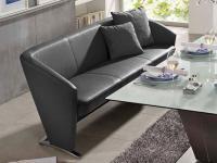 K+W Silaxx Venezia Solobank 4108 KW Möbel Dinner Esszimmer Bank Sitzbank Größe und Bezug wählbar