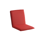 Niehoff Garden Sitzschale Nette G276 gepolstert für Gartenbank ohne Rückenlehnen geeignet Banksitz mit Rückenlehne in wählbarem Bezug