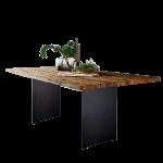 S-KULTUR by Wöstmann Natural Arts Tischsystem mit Gestell Variante C Esstisch mit fester Platte für Ihr neues Esstimmer Breite Länge Gestellausführung und Tischplattenausführung wählbar