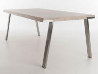 Esstisch Seven von Bert Plantagie Tisch für Esszimmer Gestellausführung Tischplattenausführung und Größe wählbar