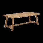 S-KULTUR by Wöstmann Esstisch Atelier Kerneiche geölt massiv mit oder ohne Naturkerbung massiv Tischgröße wählbar