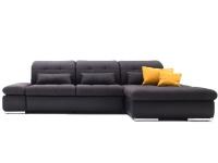 Poco Santa Fe Eckkombination 7090, 7190 Ecksofa mit 2-Sitzer und Longchair Couch spiegelverkehrt lieferbar Bezug und Zusatzausstattung wählbar Armlehne klappbar Kopfteilverstellung Bett oder Bettkasten