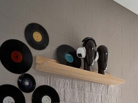 Bodahl Woodstock Timber Wandboden Massivholz wild oak Wandregal für Wohnzimmer und Esszimmer Holzausführung und Größe wählbar