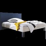 Hasena Factory-Line Bett bestehend aus Bettrahmen Loft Wandpaneel Sogno L Bettfüße Mico Liegefläche ca. 180x200 cm