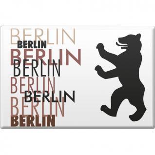 Kühlschrankmagnet - Berlin - Gr. ca. 8 x 5, 5 cm - 38713 - Küchenmagnet