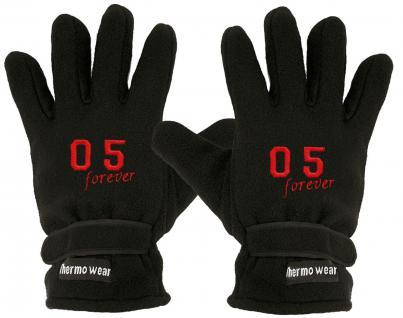 """(40385-56544) Fleece Handschuhe mit Einstickung """" 05 FOREVER"""" - Vorschau"""