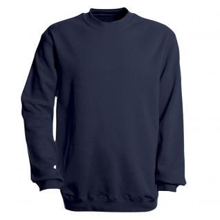 Sweat-Shirt unisex ohne Print in 14 farben Gr. S-XXL 41375 L / Navy