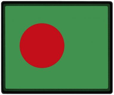 Mousepad Mauspad mit Motiv - Bangladesch Fahne Fußball Fußballschuhe - 82021 - Gr. ca. 24 x 20 cm