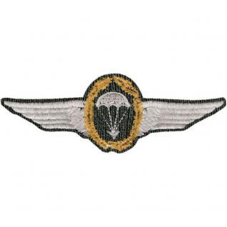 AUFNÄHER - Abzeichen - Fallschirmspringer - 00402 - Gr. ca. 11, 5 x 4, 5 cm - Patches Stick Applikation