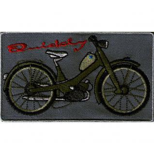 Aufnäher - Queckley - 00546 - Gr. ca. 11 x 6 cm - Patches Stick Applikation