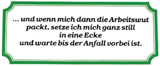 PVC Aufkleber Fun Auto-Applikation Spass-Motive und Sprüche - ... und wenn mich... - 303365 - Gr. ca. 17 x 8 cm