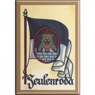Kühlschrankmagnet - Wappen Zweibrücken - Gr. ca. 8 x 5, 5 cm - 37556 - Magnet Küchenmagnet