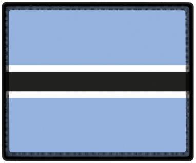 Mousepad Mauspad mit Motiv - Botswana Fahne Fußball Fußballschuhe - 82026 - Gr. ca. 24 x 20 cm