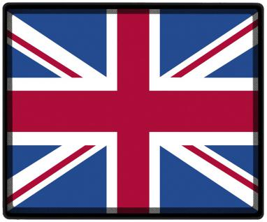 Mousepad Mauspad mit Motiv - Großbritannien Fahne Fußball Fußballschuhe - 82057 - Gr. ca. 24 x 20 cm