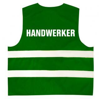 Kinder Warnweste mit Aufdruck Handwerker 11703