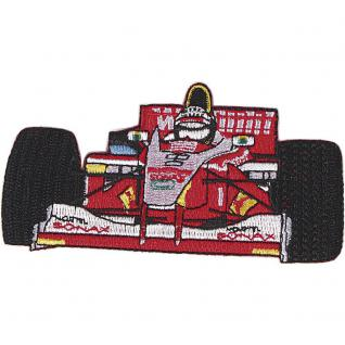 AUFNÄHER - Formel 1 - 04828 - Gr. ca. 12 x 5 cm - Patches Stick Applikation