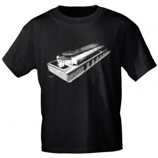 Designer T-Shirt - Harmonica - von ROCK YOU MUSIC SHIRTS - 10167 - Gr. L