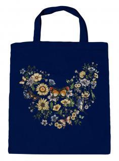 (U09840)Umweltfreundliche Baumwoll - Tasche , ca. 28 x 43 cm mit Aufdruck in 7 Farben Navy