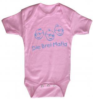 Babystrampler mit Print ? Die BRei Mafia ? 08497 pink -
