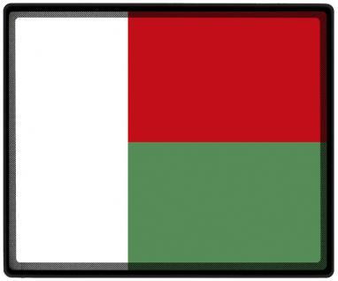 Mousepad Mauspad mit Motiv - Madagaskar Fahne Fußball Fußballschuhe - 82097 - Gr. ca. 24 x 20 cm