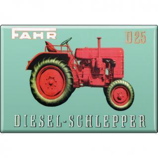 MAGNET - Fahr - Gr. ca. 8 x 5, 5 cm - 36527 - Küchenmagnet