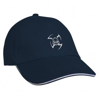 Baseballcap mit Einstickung Tribal 68106 Navy