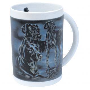 Tasse Kaffeebecher mit Print Labrador 57212 Bötzel Kollektion