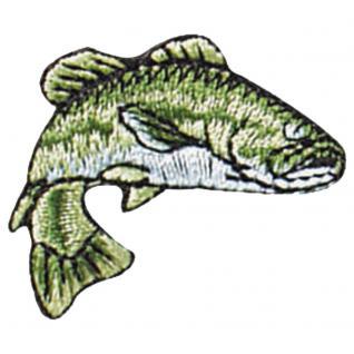 ca Aufnäher Fisch Flussaal Gr 04667 10cm x 3,5cm