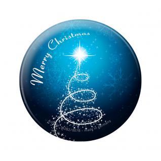 Magnet - Merry Christmas - Gr. ca. 5, 7cm - 16282 - Küchenmagnet 16282