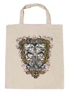 (U10834)Umweltfreundliche Baumwoll - Tasche , ca. 28 x 43 cm mit Aufdruck in 7 Farben natur