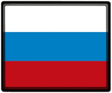 Mousepad Mauspad mit Motiv - Russland Fahne - 82135 - Gr. ca. 24 x 20 cm