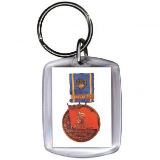 Schlüsselanhänger - DDR FDJ - Gr. ca. 6x4cm - 03382