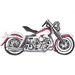 Aufnäher - FZ RR Bike - 04257 - Gr. ca. 8, 5 x 4 cm - Patches Stick Applikation