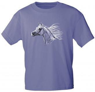 Kinder T-Shirt mit Print - Araber - 08280 - violett - Kollektion Bötzel - Gr. 110-164