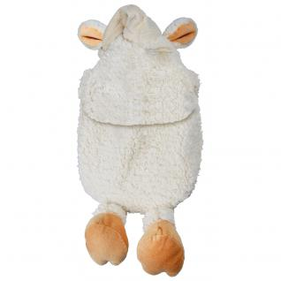 Wärmflasche Maus mit Einstickung Schneemann 34927 beige - Vorschau 2