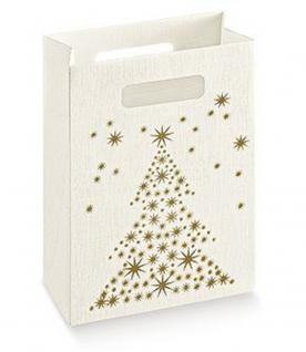 (23821-1) 5er Pack. Shopper-Box, edle Geschenktasche, Größe ca. 16 x 23 x 8 cm