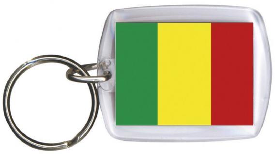 Schlüsselanhänger - MALI - Gr. ca. 4x5cm - 81101 - Keyholder WM Länder