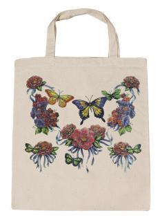 (U09943)Umweltfreundliche Baumwoll - Tasche , ca. 28 x 43 cm mit Aufdruck in 7 Farben natur