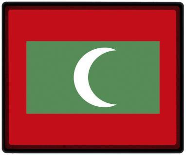 Mousepad Mauspad mit Motiv - Malediven Fahne Fußball Fußballschuhe - 82100 - Gr. ca. 24 x 20 cm