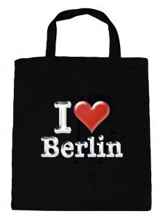 (09836-Tasche) Umweltfreundliche Baumwoll - Tasche , ca. 28 x 43 cm mit Aufdruck? Berlin?