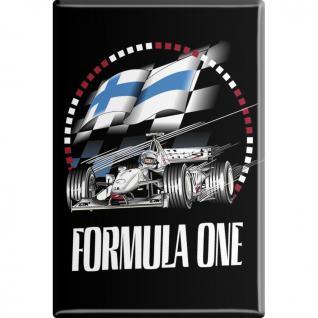 Kühlschrankmagnet - Fomel 1 F1 Formula1 - Gr. ca. 8 x 5, 5 cm - 38342 - Magnet Küchenmagnet