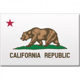 (37105-1) MAGNET -California - Gr. ca. 8 x 5, 5 cm - 37105 - Küchenmagnet