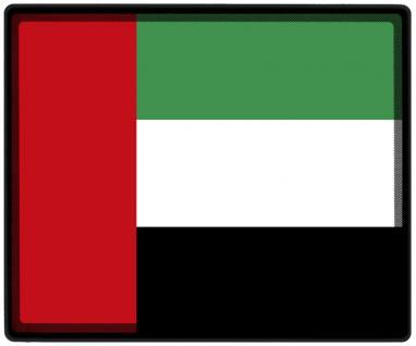 Mousepad Mauspad mit Motiv - Arabische Emirate Fahne Fußball Fußballschuhe - 82013 - Gr. ca. 24 x 20 cm