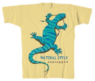 Designer T-Shirt - Natural Style - von ROCK YOU MUSIC SHIRTS - 10407 beige - Gr. S-XXl