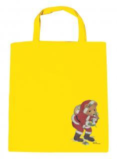 (08903/3-gelb) Umweltfreundliche Baumwoll - Tasche , ca. 38 x 43 cm mit Aufdruck
