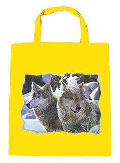 (08870/2-gelb) Umweltfreundliche Baumwoll - Tasche , ca. 28 x 43 cm mit Aufdruck