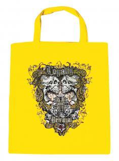 (U10834)Umweltfreundliche Baumwoll - Tasche , ca. 28 x 43 cm mit Aufdruck in 7 Farben gelb